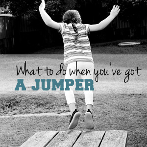 What to do when you've got a jumper | One Mama's Daily Drama --- Must read tips for safety from a mom with a kid who jumps.