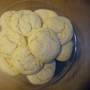 Dreamsicle cookies   One Mama's Daily Drama --- These yummy orange cookies have just two ingredients and taste like your favorite frozen treat!