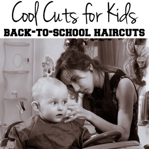 Cool Cuts for Kids back to school haircuts | One Mama's Daily Drama --- Are haircuts on your back to school list?
