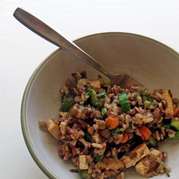 Vegetarian Ewok salad
