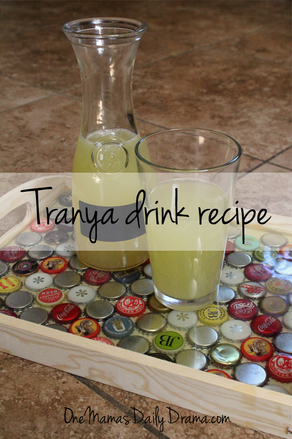 Star Trek drink recipe: Tranya fruity non-alcoholic drink | One Mama's Daily Drama