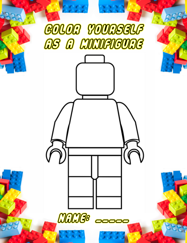 sutter health lego coloring pages - photo#19