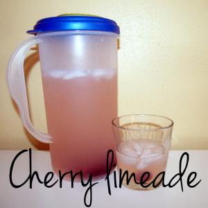 Cherry limeade | One Mama's Daily Drama