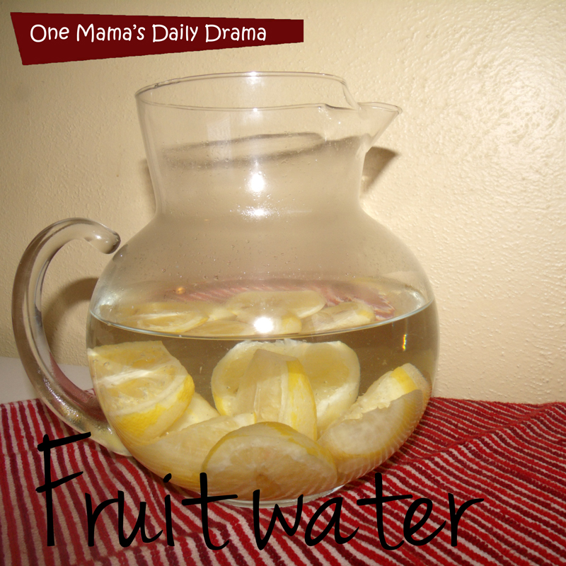 Easy fruit water recipes | One Mama's Daily Drama