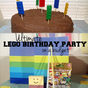 How to throw a LEGO party