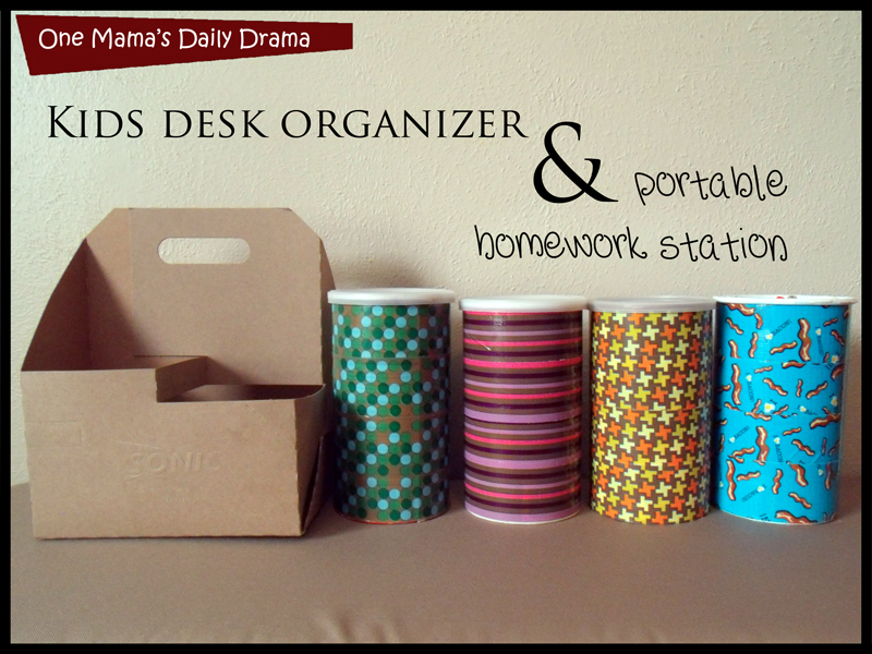 Diy desk organizer tutorial images - Desk organizer diy ...