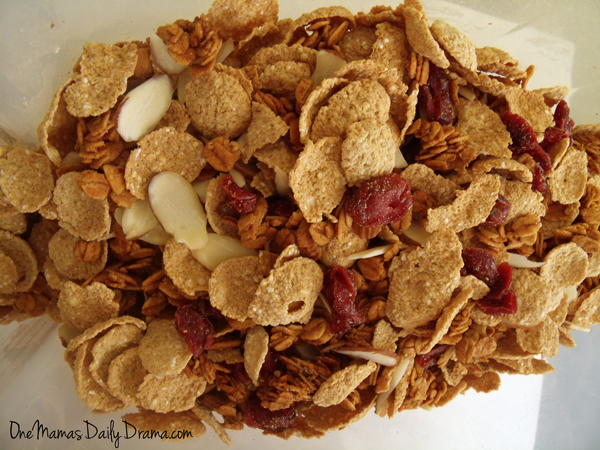 Homemade oat cluster cereal recipe | One Mama's Daily Drama