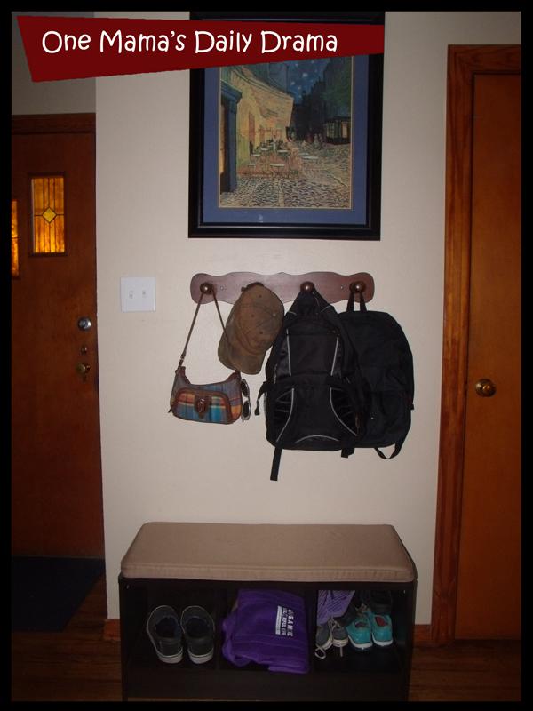 backpack organizing