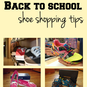 Back to school shoe shopping tips | One Mama's Daily Drama