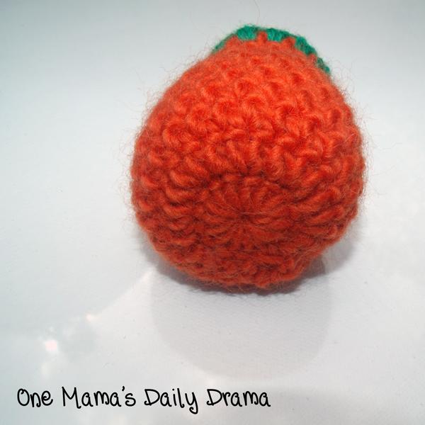 crochet pumpkin bottom