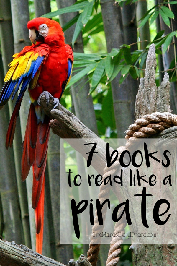 7 books to read like a pirate   Fun family activity for Talk Like a Pirate Day, September 19th