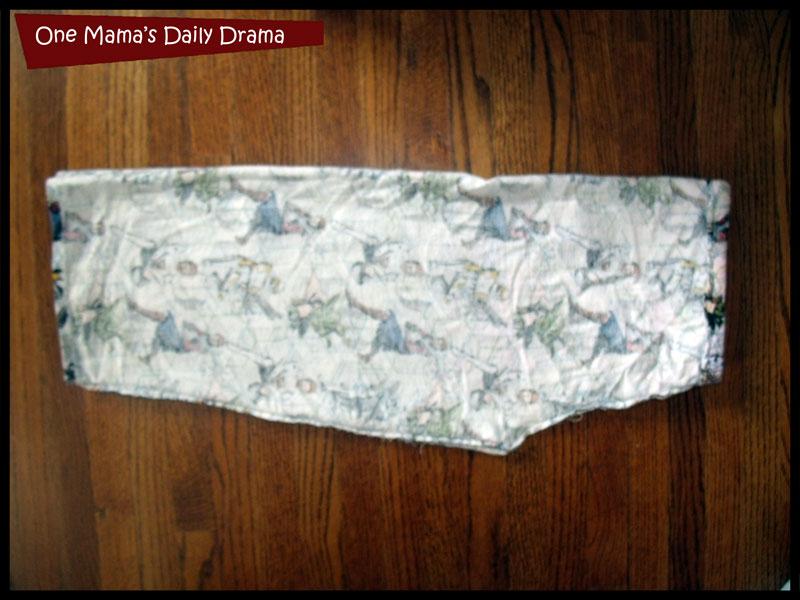 cut out pajama pants