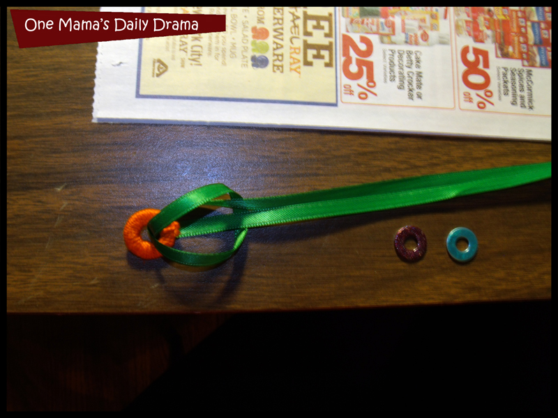 washer jewelry loop