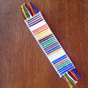 Cross-stitch Doctor Who 4th Doctor's Scarf