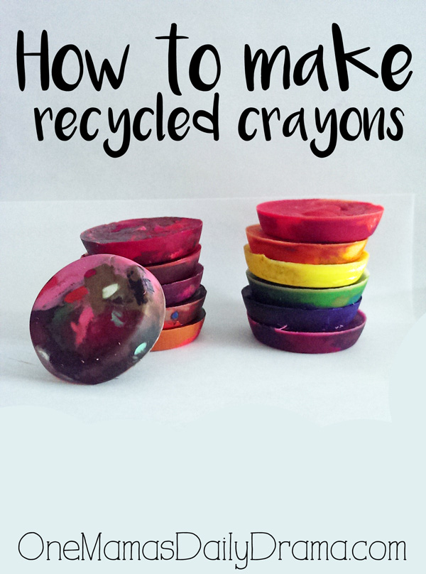 How to make recycled crayons + dozens of free printable coloring pages