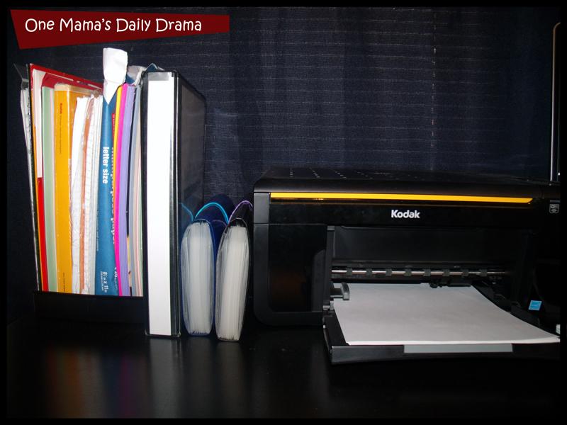 menu planning system storage