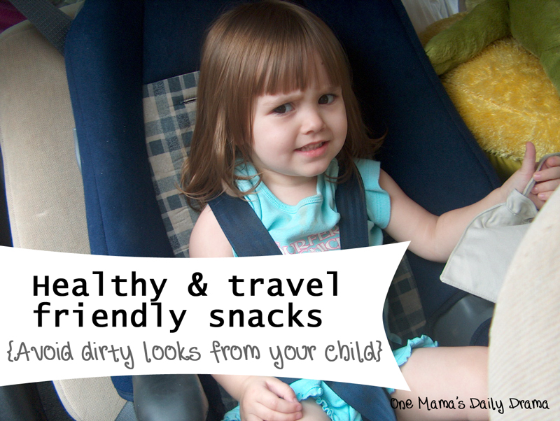 Healthy Travel Friendly Snacks for Road Trips | One Mama's Daily Drama