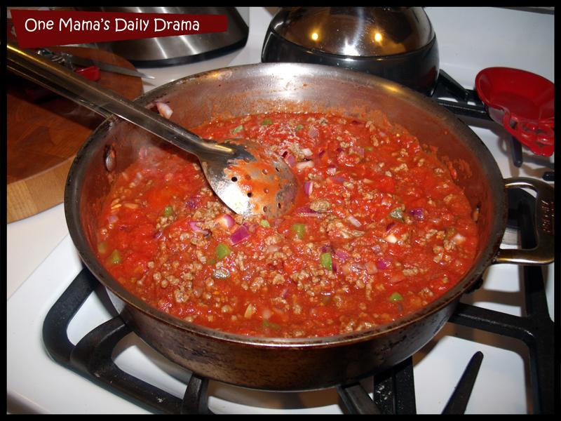 baked pasta sauce