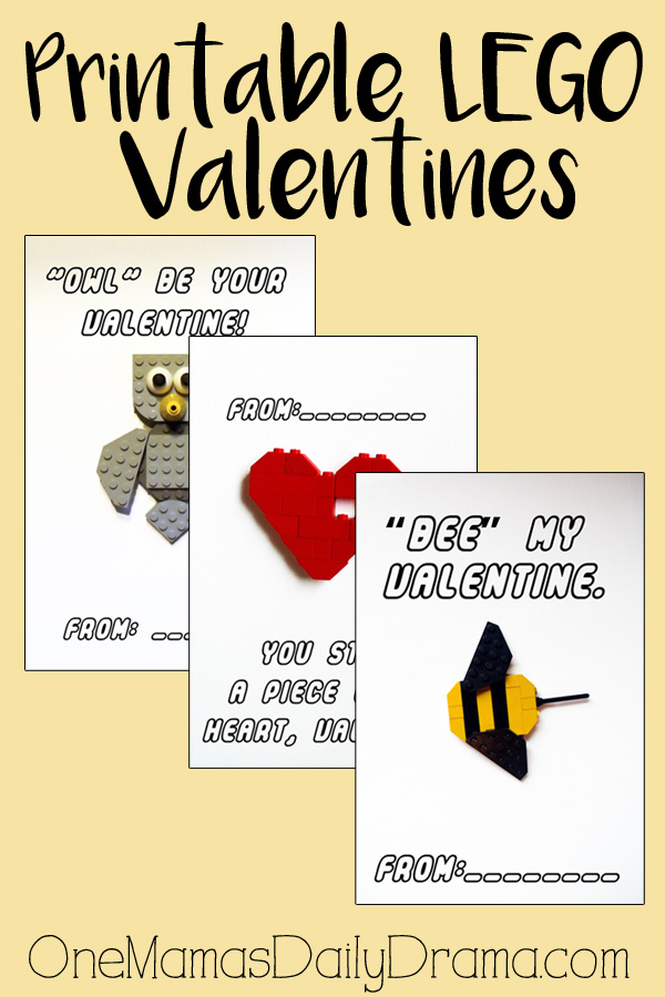 graphic relating to Lego Font Printable known as Free of charge printable LEGO valentines