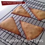 2 ingredient pocket pies