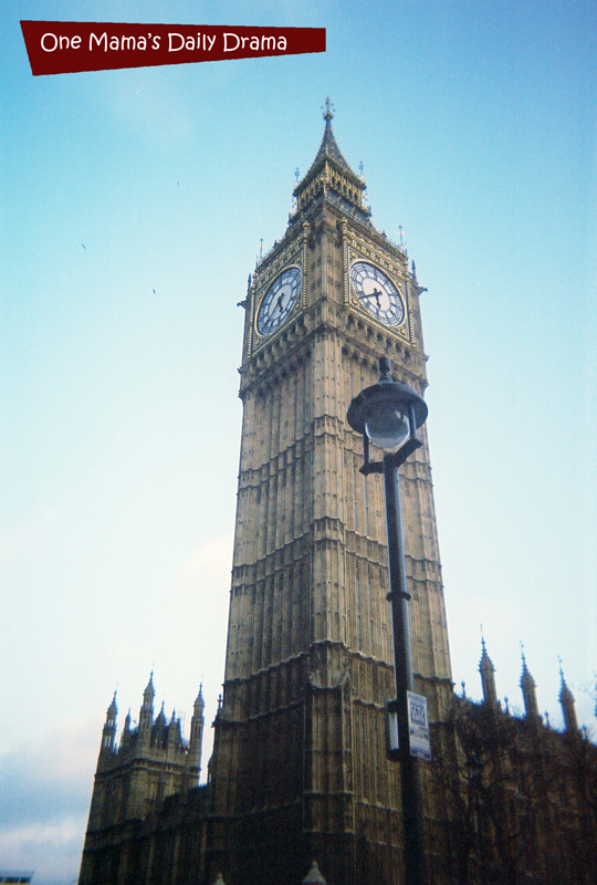 Big Ben: not as big as you might expect.