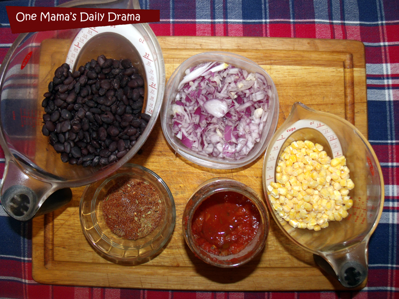 Tex-Mex taco bowls ingredients