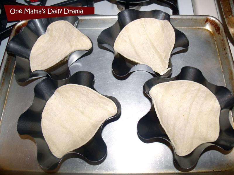 Tex-Mex taco bowls tortilla recipe