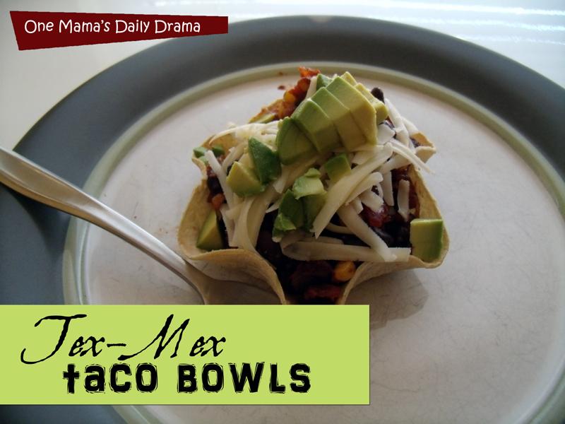 Tex-Mex taco bowls recipe | One Mama's Daily Drama