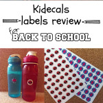Kidecals labels for back to school