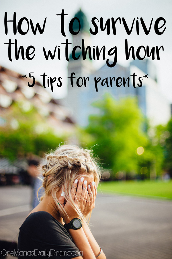 How to survive the witching hour: tips for keeping kids calm (and parents too) in the late afternoon