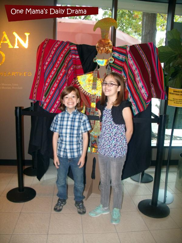 Peruvian Gold at the Irving Arts Center | One Mama's Daily Drama