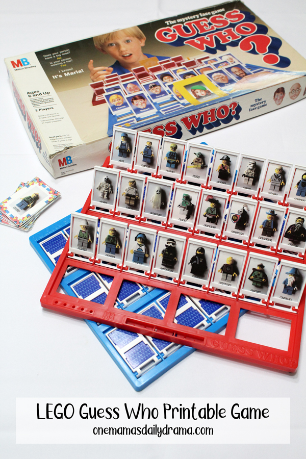 photo about Guess Who Printable known as LEGO Bet Who? Printable Match for Small children of All Ages