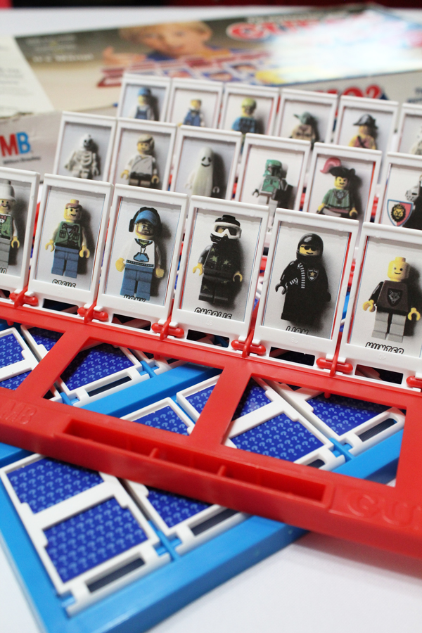 LEGO character cards