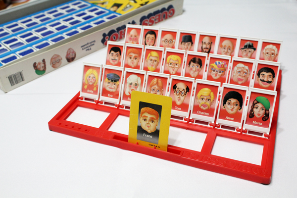 classic Guess Who game cards