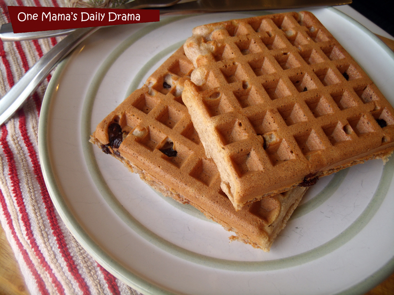 Cinnamon raisin waffle recipe: the perfect Saturday morning breakfast | One Mama's Daily Drama