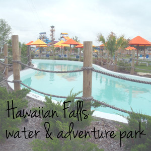Visit Hawaiian Falls water and adventure park DFW | One Mama's Daily Drama --- Slides, a lazy river, and ropes courses! I can't wait to take my family this summer!