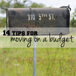 14 tips for moving on a budget