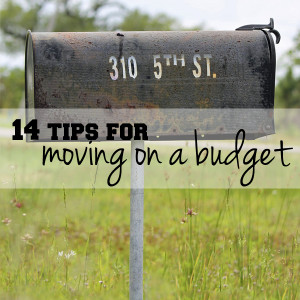 14 tips for moving on a budget | One Mama's Daily Drama