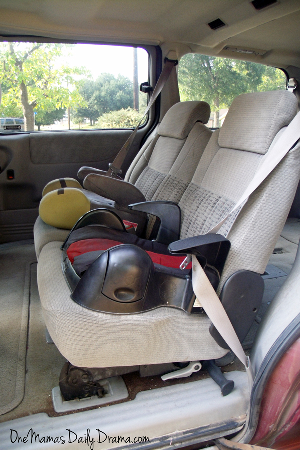 Booster seats and little big kids | One Mama's Daily Drama --- When is your child ready to stop using booster seats? Take a look at laws, guidelines, and what one mom is doing to ensure her kids are safe.