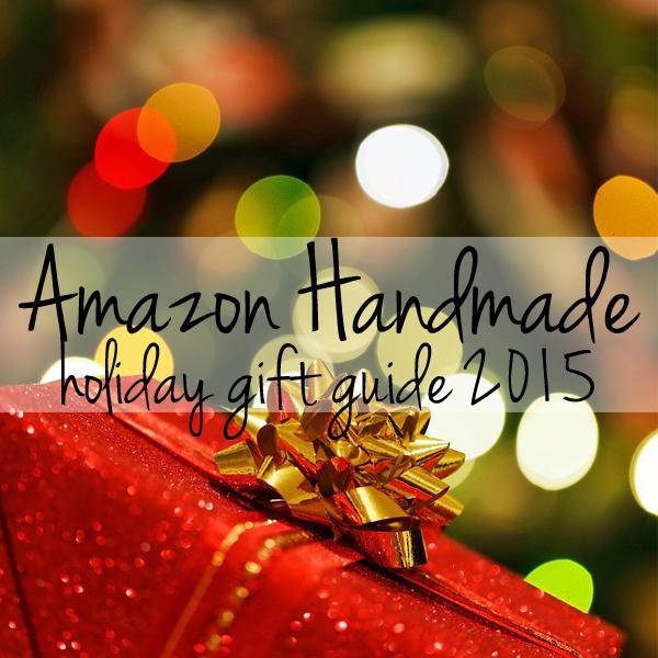 Personalized Handmade Christmas Gift Guide: Amazon Handmade Holiday Gift Guide