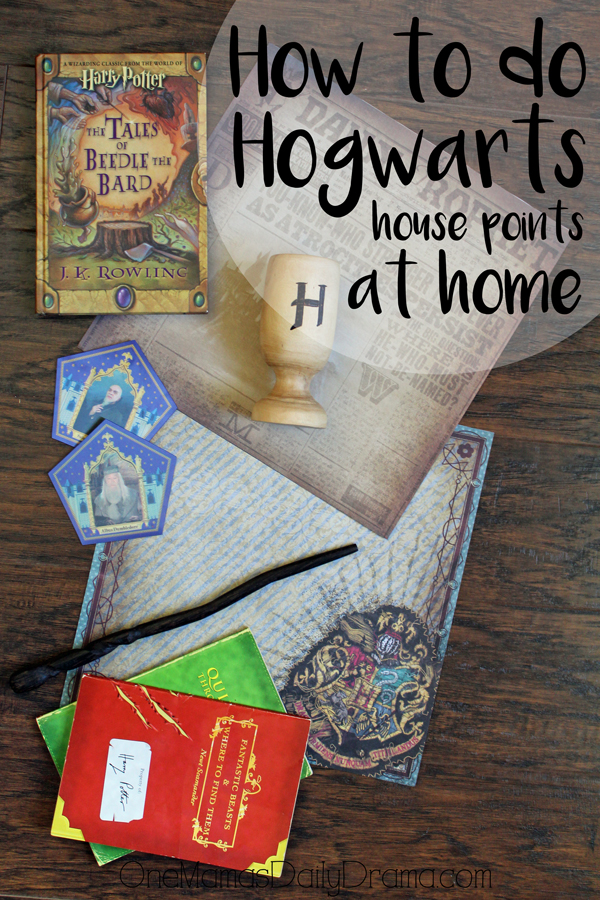 How to do Hogwarts house points at home | Encourage & reward your kids' good behavior