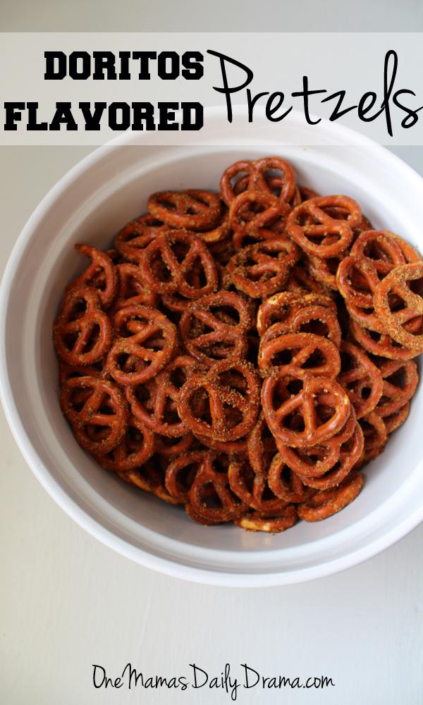 Doritos flavored pretzels | One Mama's Daily Drama