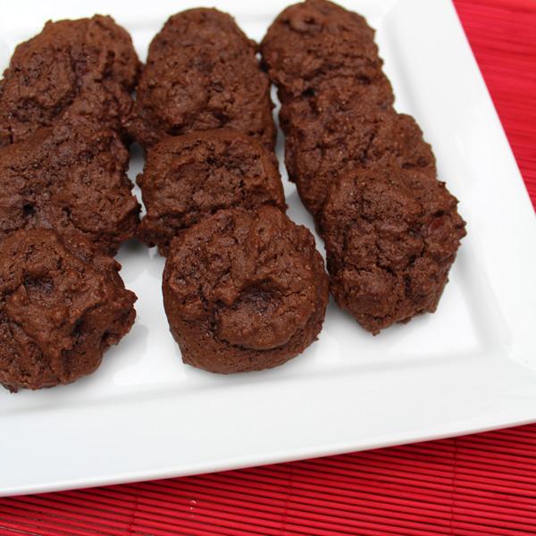 """Triple chocolate """"dark side"""" cookies"""