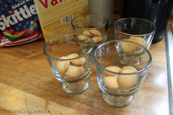 vanilla wafers for American summer no-bake cheesecake cups by OneMamasDailyDrama.com