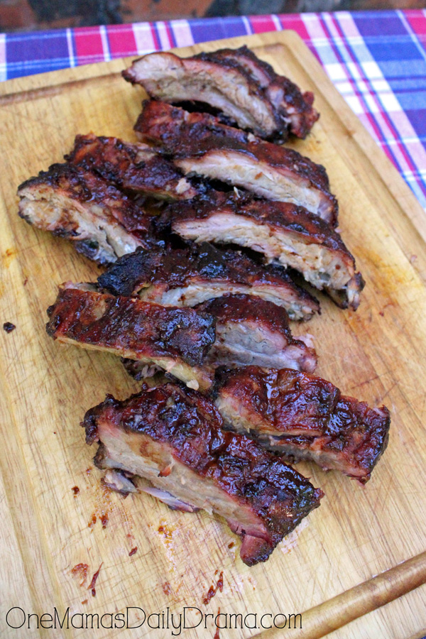 Sweet and spicy Texas BBQ ribs | The best and easiest grilling recipe by OneMamasDailyDrama.com