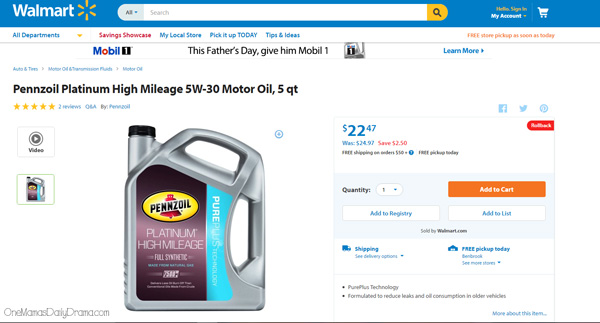 8 brilliant tips to make your car last forever | OneMamasDailyDrama.com --- No. 2 is to use a high-mileage oil.