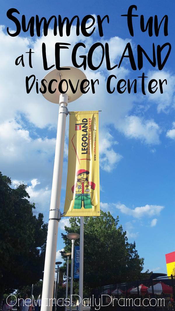 Summer fun at LEGOLAND Discover Center