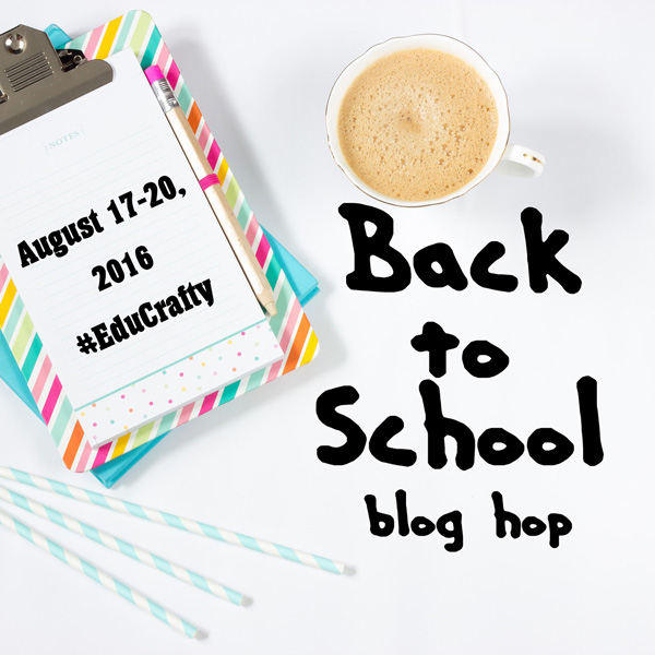 Back to school blog hop | Share your school & education craft projects with #EduCrafty