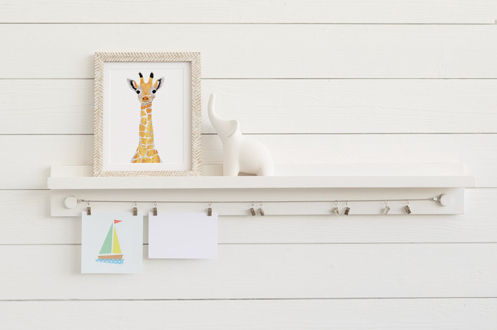 Minted.com Little Artist Shelf