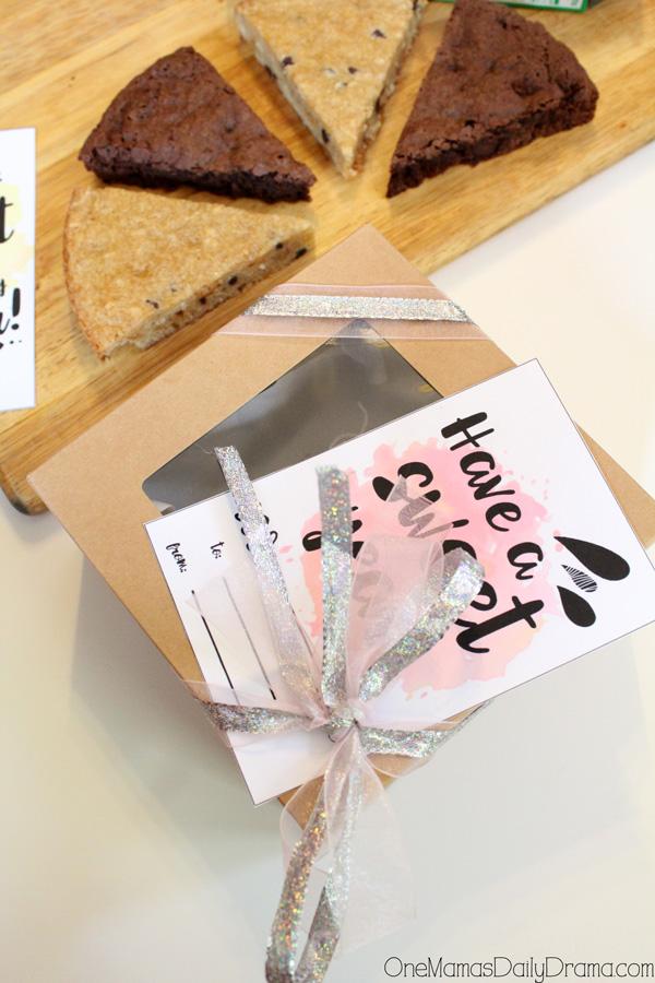 Sweet school year treat box + printable card